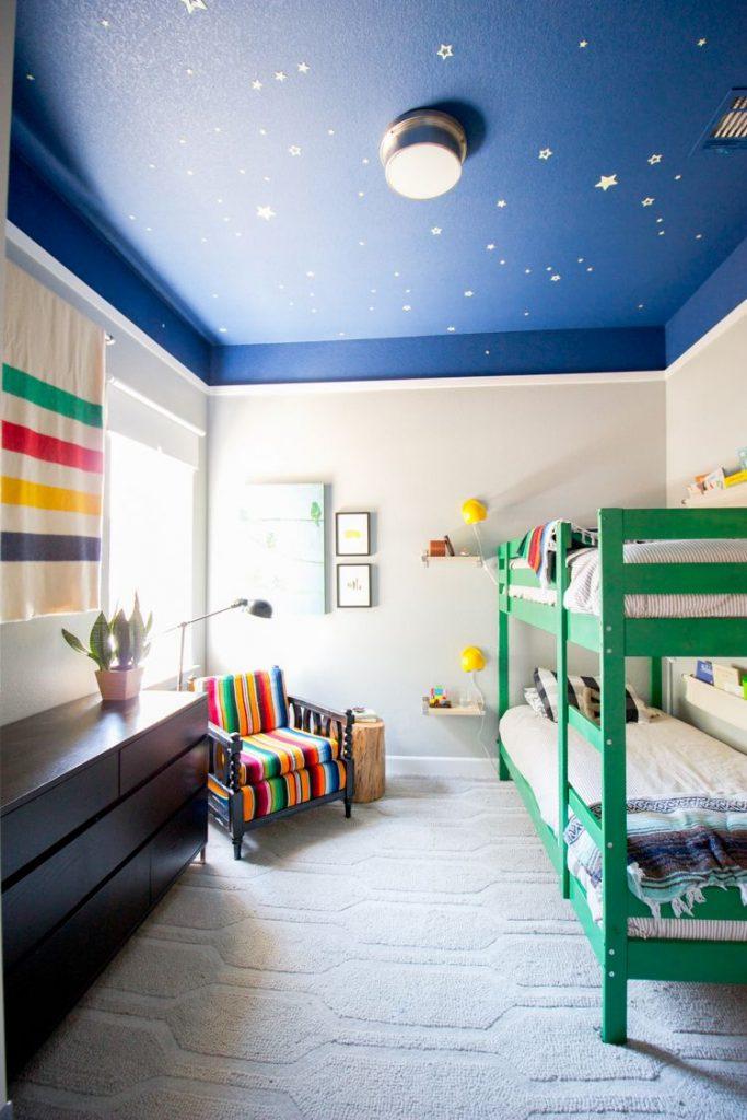 رنگ در اتاق کودک